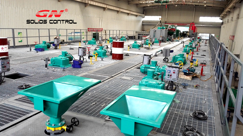 oil drilling mud recycaling system