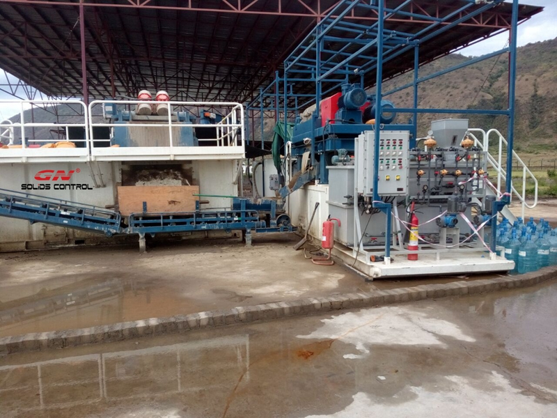 oil sludge treatment system for uganda